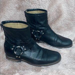 Frye Women's Moto Boots Leather